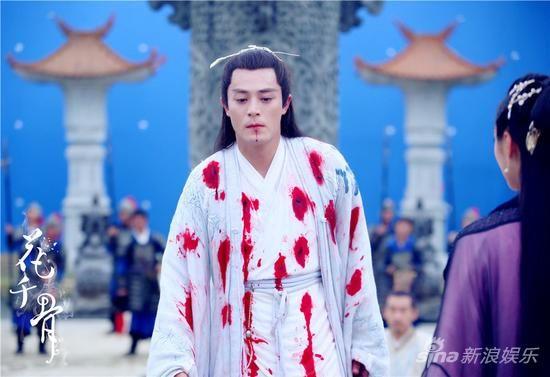 白子画代徒受刑 The journey of flower 《花千骨》 /  Zhao Li Ying / Wallace Huo / Jiang Xin 蒋欣Yu Qing / Zhang Danfeng / Li ChunChee Wen / Tang Lijun etc