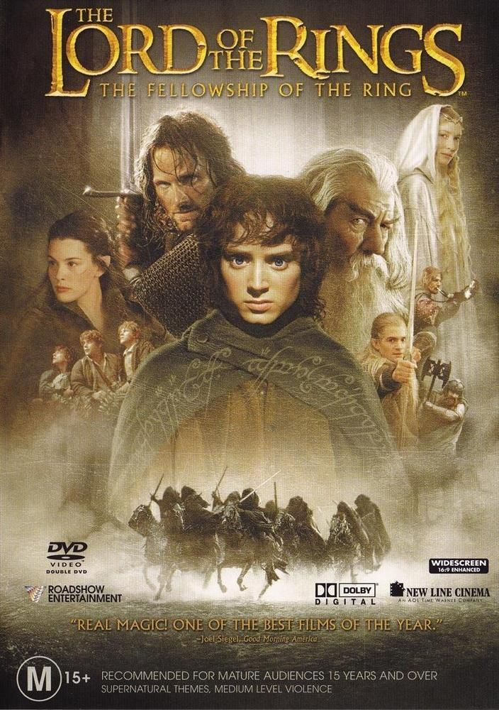 Lord Of The Rings The Fellowship Of The Ring (DVD, 2005, R4 Aust 2 Discs) AS NEW #movies #dvd #LordOfTheRings