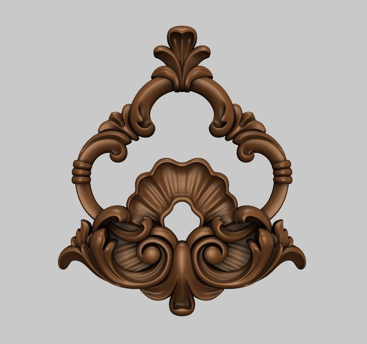 Центральный декор 3D-модели для ЧПУ / 3D-models for CNC / stlforcnc@yandex.ru