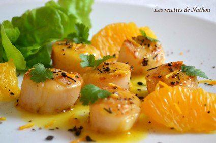 Saint-Jacques poêlées au beurre d'agrumes et poivre Voatsiperifery : la recette facile