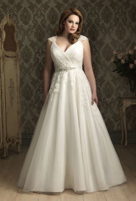 Style W282, tulle wedding dress, price upon request, Allure Bridals See more Allure Bridals wedding dresses.