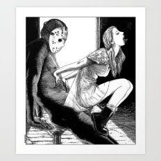 asc 563 - Le rite de passage (The prom night) Art Print