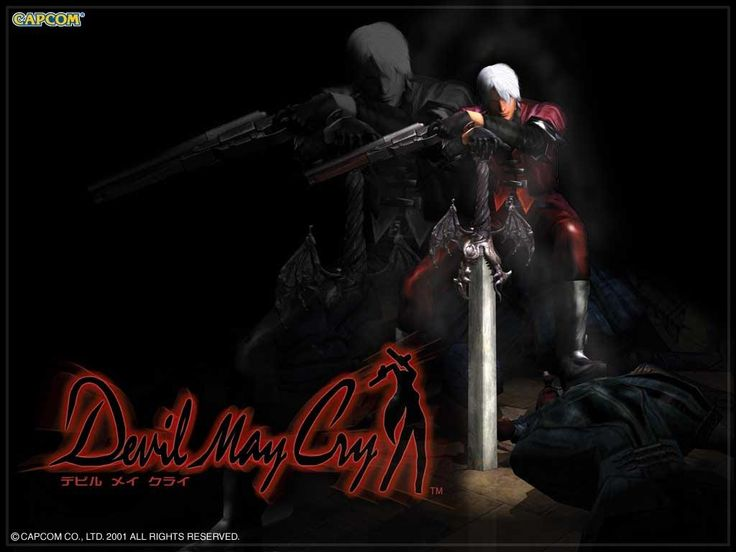DMC - Devil May Cry 1 - All Cutscenes in HD