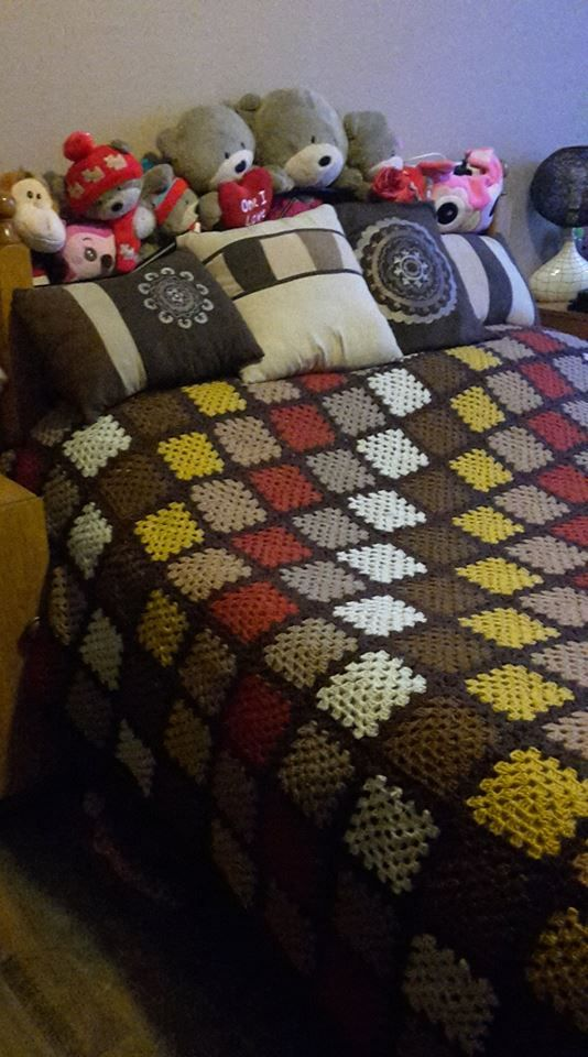 Finished - our blankie