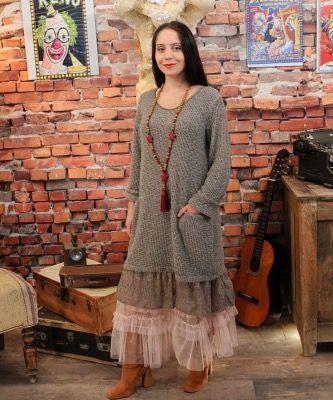 Pull fond de robe dentelle – Lyly La Comtesse