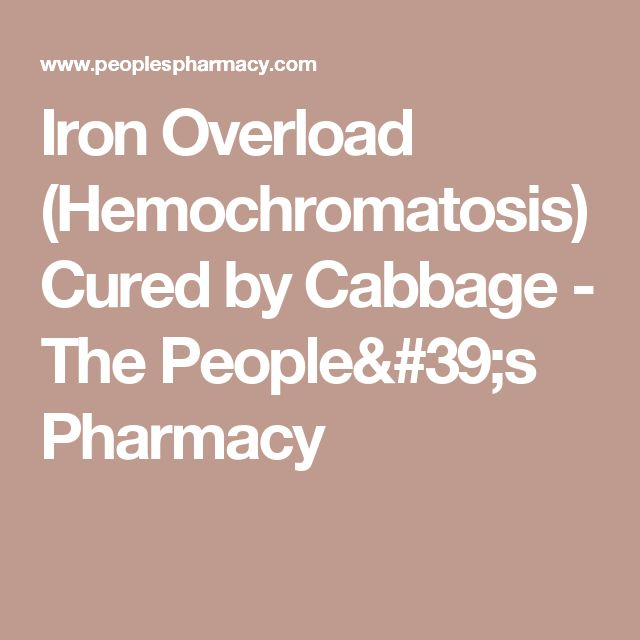 17 Best ideas about Hemochromatosis Treatment on Pinterest ...