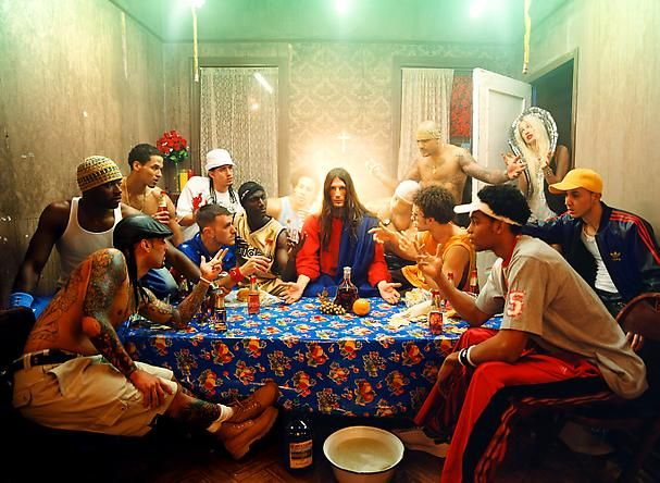 JESUS IS MY HOMEBOY  2003. David LaChapelle