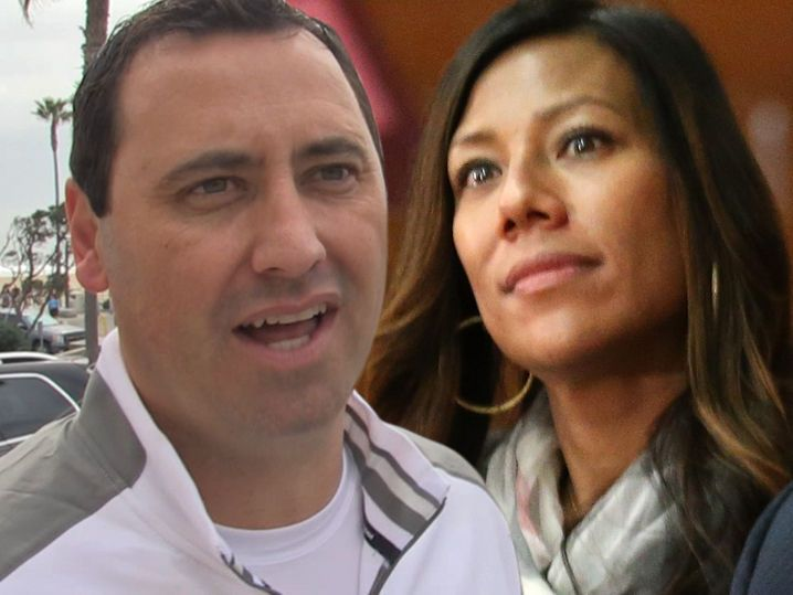 Steve Sarkisian -- Officially Divorced ... You Can't Touch My USC Lawsuit Money!