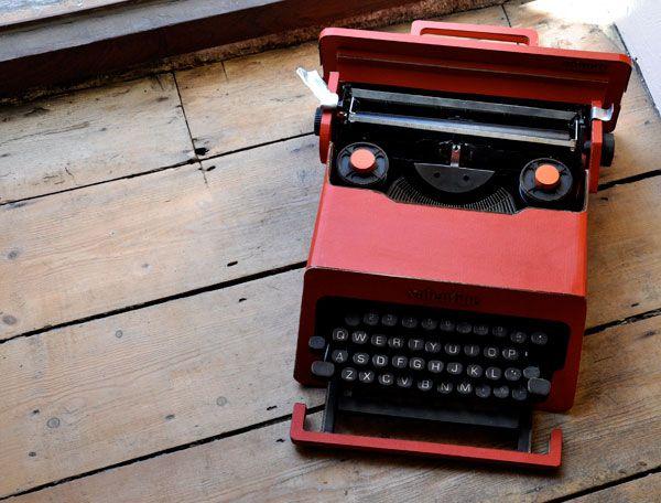 century office equipment. olivetti valentine kelly angood century office equipment