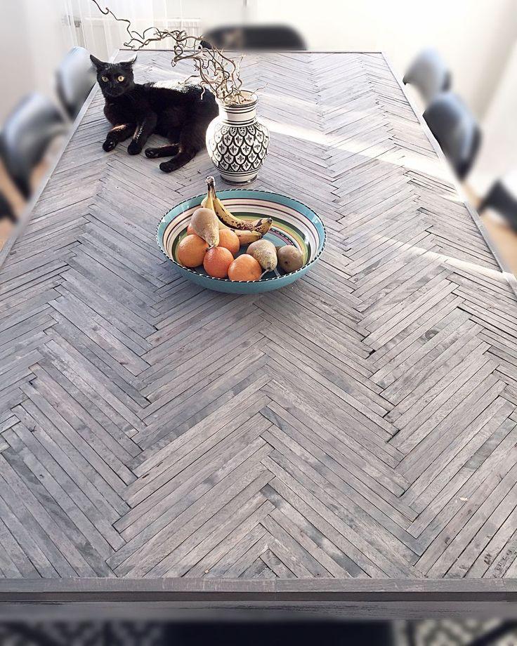 Detta Diy är verkligen ett av de bästa alltså! Min bästa vän har gjort en så galet snygg bordsskiva av Biltemas trästickor och bets! Det du behöver för att göra detta är alltså; -trästickor från…