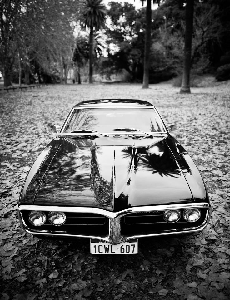 The Pontiac GTO - a classic muscle car of the 60's.