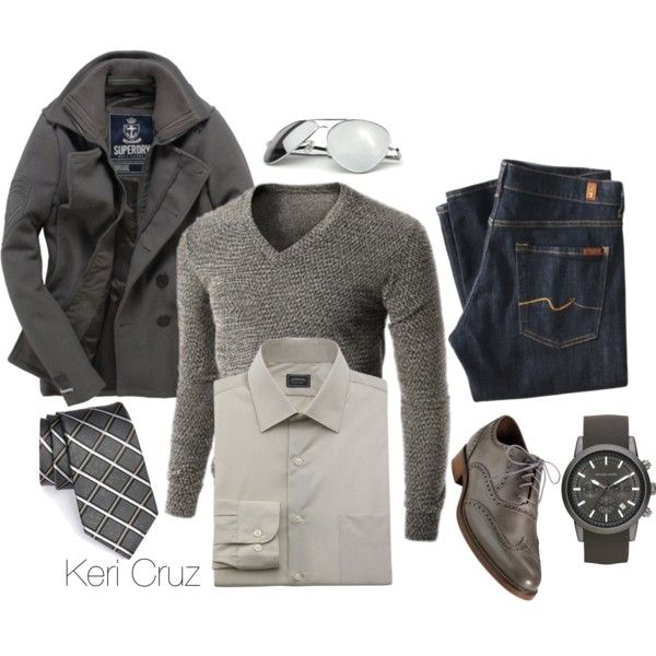 Rugged & Ready for Anything by keri-cruz on Polyvore featuring Urban Boundaries, Superdry, 7 For All Mankind, Michael Kors and Cole Haan