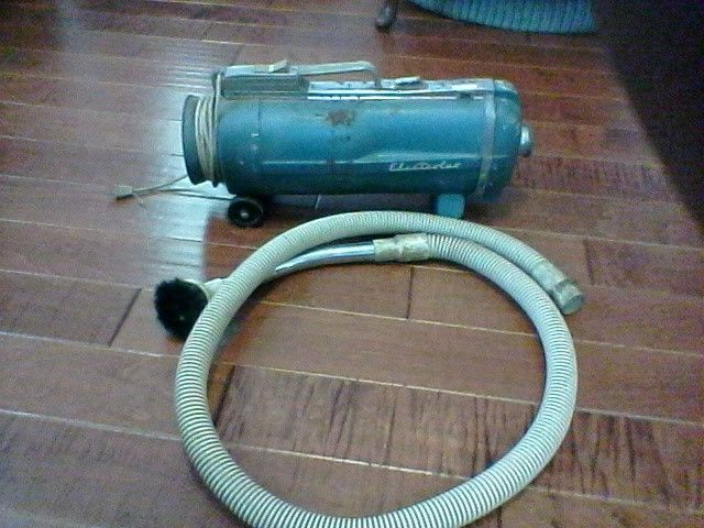 Vintage Electrolux Canister Vacuum Cleaner Model Automatic E  #Electrolux