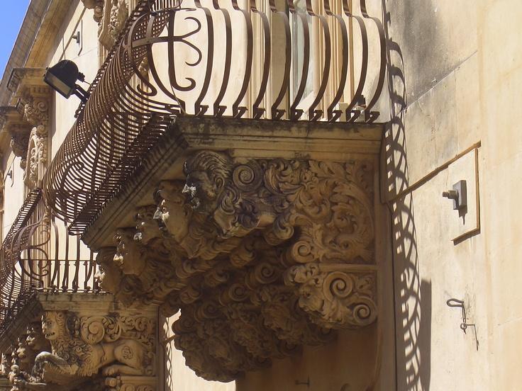 balcony in Noto - Sicily