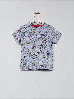 103ef7f97 Niño 0-36 meses - Camiseta con estampado de fantasía - Kiabi