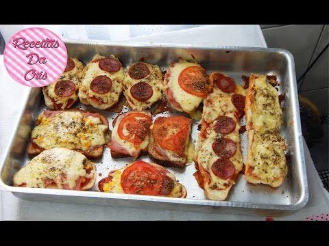 [ESPECIAL DE FÉRIAS] Pão Pizza!!
