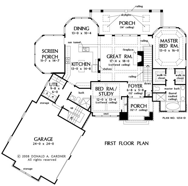 Plan Of The Week: The Silvergate #1254-D