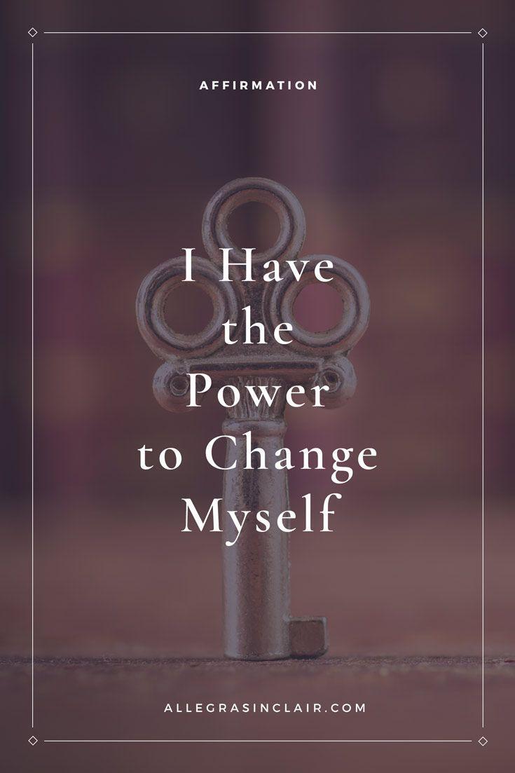 Change Myself