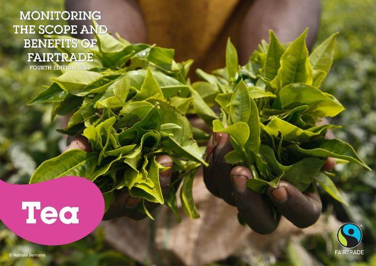 2012 Fairtrade Tea Impact and Facts by Fairtrade International via slideshare