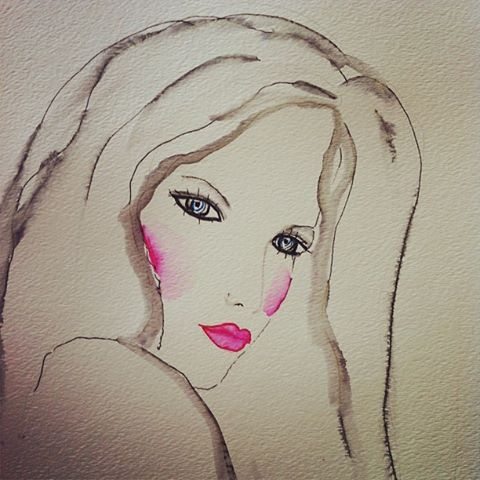 sensuality - watercolour