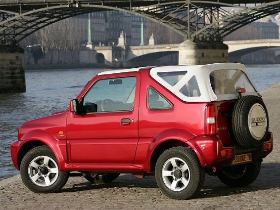 Suzuki Jimny Cabrio (2006).