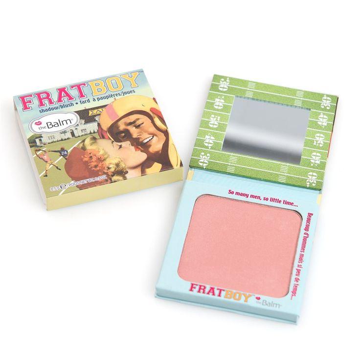 The Balm Frat Boy Shadow/Blush Peachy Apricot, 139 kr hos cocopanda.se @khols.com don't order makeup from amazon