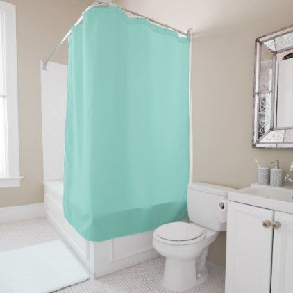 Robin's Egg Blue Shower Curtain - home gifts ideas decor special unique custom individual customized individualized