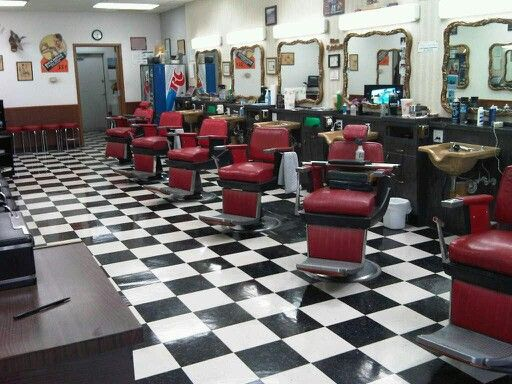 Layout ideas With images Shop design Barbershop