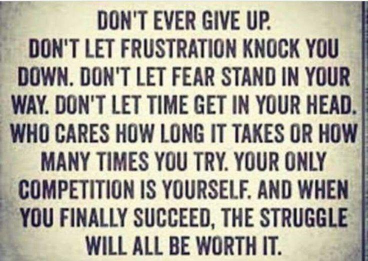 #Don't... #Success