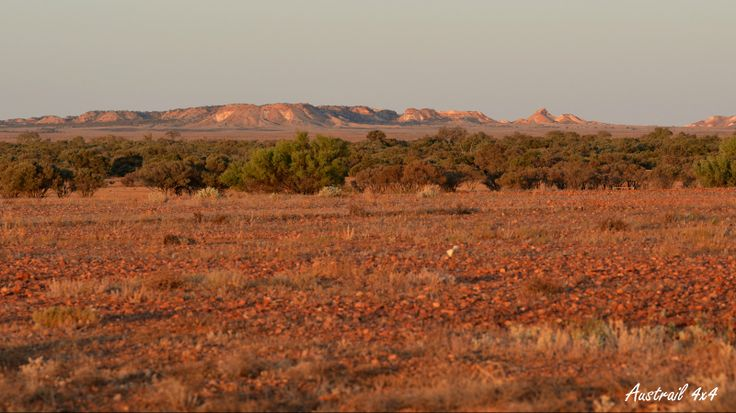 The view from Arkaringa Station (Camp Ground) - Painted Desert, South Australia.