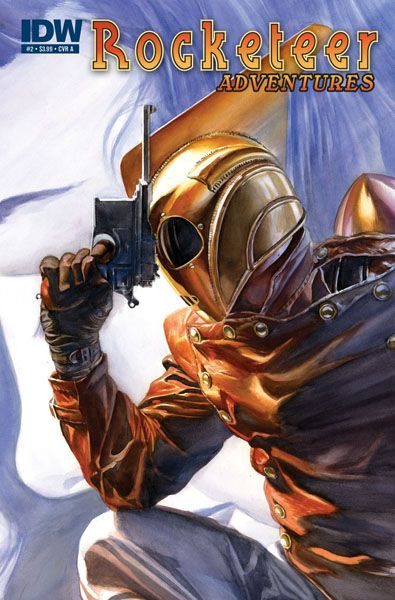 The Rocketeer by Alex Ross: Rocketeer Adventures, Comic Book, Comicbook, Comic Art, Alex Ross, Comics, Alex O'Loughlin, Superhero