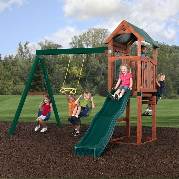 28 best new products images on pinterest swing sets for Swing set supports