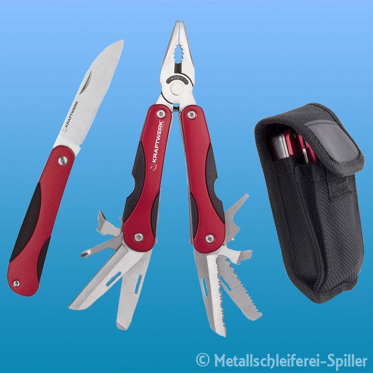 Kraftwerk ® 3322 Multifunktions-Tool mit Taschenmesser und Holster in Heimwerker, Werkzeug, Multifunktionswerkzeuge | eBay!