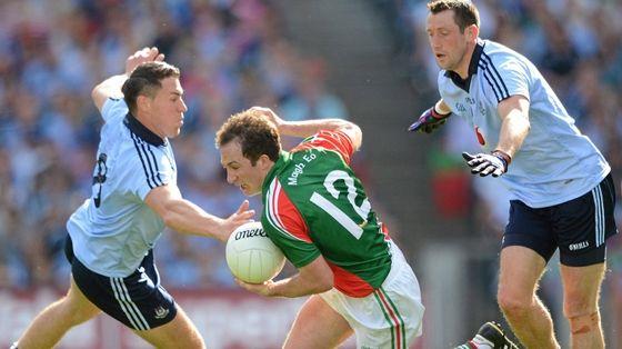 Mayo bested Dublin to reach the GAA All Ireland 2012 Football Final. We love and support GAA Football!