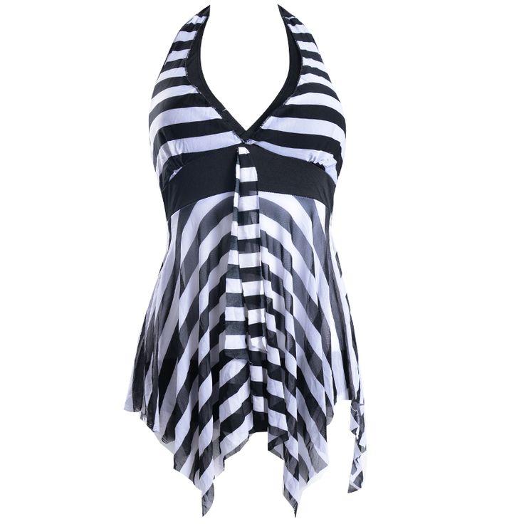 2014 swimwear hot spring one piece full dress type fashion personality women's plus size swimwear US $11.59