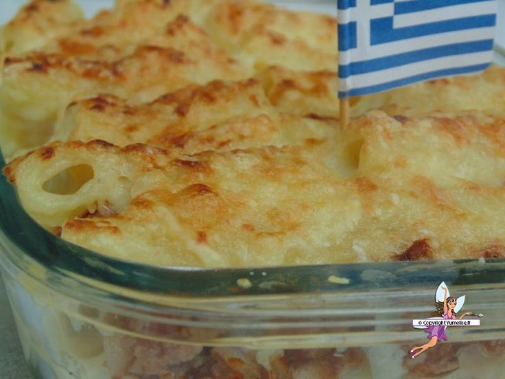 .^. Pastitsio, les lasagnes grecques.....