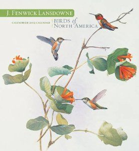 J. Fenwicke Lansdowne: Birds of North America 2012 Calendar by J. Fenwick Lansdowne. $347.53. Publisher: Pomegranate Press; Wall calendar edition (August 10, 2011). Publication: August 10, 2011