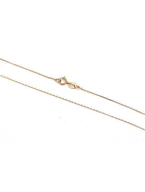 Αλυσίδα Χρυσή 9Κ σε Ροζ Χρώμα Αναφορά 018065 Αλυσίδα Χρυσή 9Κ σε ροζ χρώμα και με μήκος 40 εκ.
