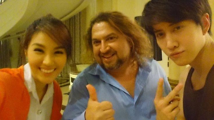 Thai Star #Saimai and #MikePitchaya With Dr. Sunil at Dr. Sunil Dental Clinic in Bangkok, Thailand