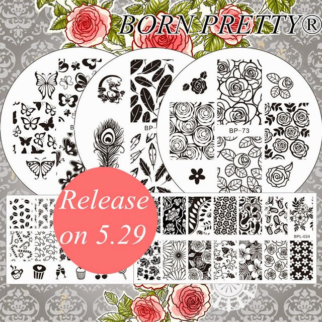 Born Pretty Store Blog: New BORNPRETTY® Stamping Plates Are Coming ! Share...