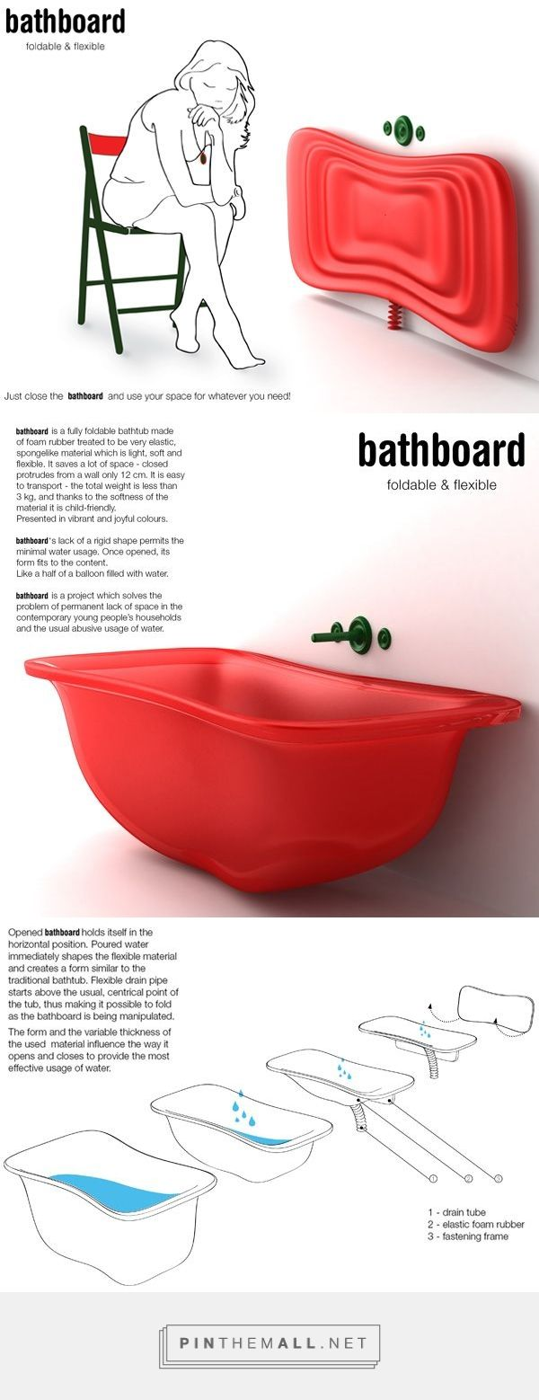 Innovative Bathboard For Small Spaces... - a grouped images picture - Pin Them All