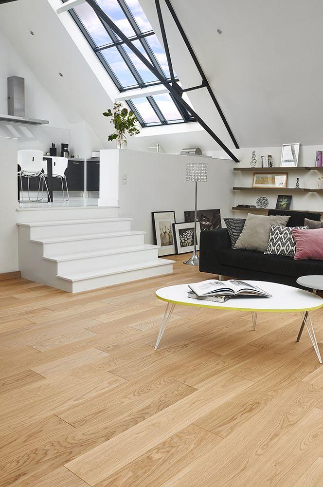 Les 25 meilleures id es de la cat gorie parquet en ch ne blanc sur pinterest id es de plancher - Parquet clair quelle couleur aux murs ...