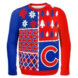 Chicago Cubs Ugly Sweater by Forever Collectibles | SportsWorldChicago $64.95 #Holidays #uglysweater #Gift #Cubs