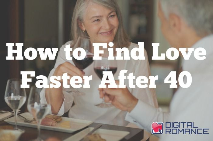 How to Find Love Faster After 40 - The great thing about dating after 40 is that you know who you are and what you want in a partner. That clarity can help you streamline the dating process. Here are Ronnie Ann Ryan's top three tips to find love faster after 40!