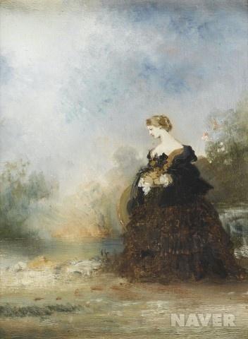 여인의 초상 – 귀스타브 모로