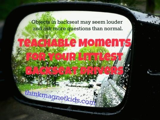 Teachable moments for car rides. Brilliant!
