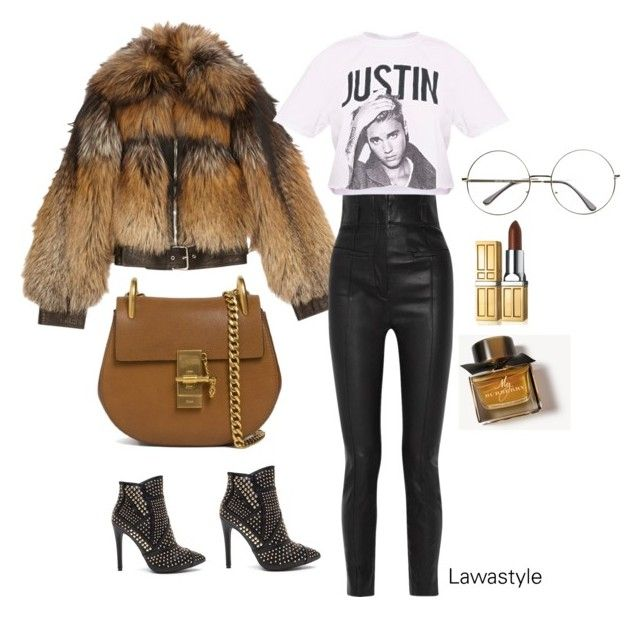 """""""Justin in my heart"""" by lawastyle on Polyvore featuring Alexander McQueen, Haider Ackermann, Justin Bieber, Chloé, Burberry and Elizabeth Arden"""