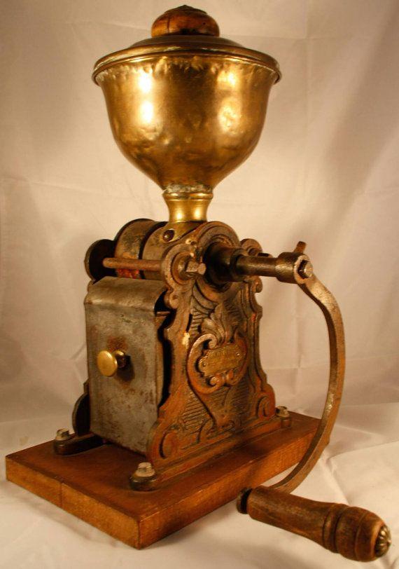 Antike LAUZANNE FILS PARIS Kaffeemühle selten eindeutige Moulin ein Cafe Flasques Koffiemolen Kaffeemuehle