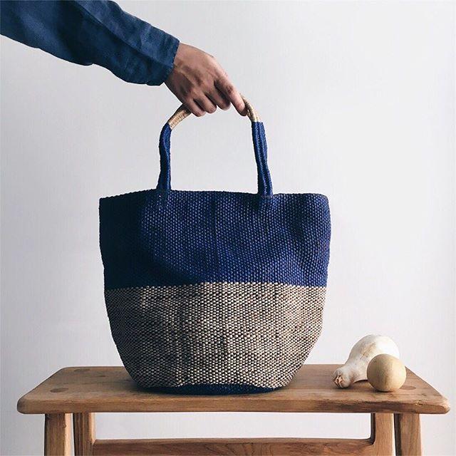 in blue ⌓ ⌇ ◠  #secretcaravan #studiovibes #totebags #handmade #handsinframe