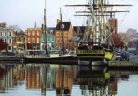 Fells Point, Baltimore Maryland - One of our favorite places for a Sunday Brunch, and Bloody Mary - Love the Cat's Eye Pub!!